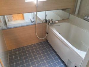 団地の浴室をリフォーム